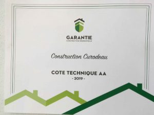 Garantie construction résidentielle - Construction Curodeau - 450w
